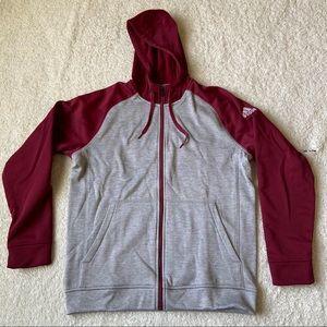 Adidas Team Issue ClimaWarm Full ZIP Jacket Large